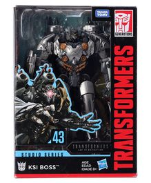 Transformer Studio  Series KSI Boss Series Voyager Silver - Height 20.5 cm
