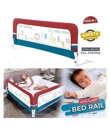 R for Rabbit Anti Fall Bed Rails - Multicolor