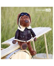 Orange Toys Cookie The Aviator Dog - Height 45 cm