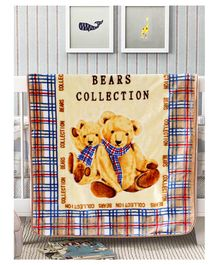A Homes Grace Soft and Cozy Mink Winter Baby Blanket Burberry Check Design - Multicolor 100x140 cms )