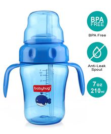 Babyhug Twin handle Sipper Cup Blue - 210 ml
