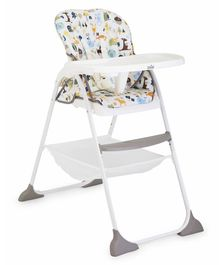 Joie Alphabet Printed High Chair - Multicolor