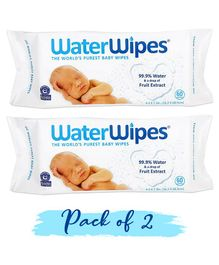 WaterWipes Baby Skin Care Wipes - 120 Pieces