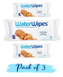 WaterWipes Baby Skin Care Wipes - 180 Pieces