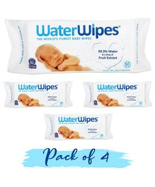 WaterWipes Baby Skin Care Wipes - 240 Pieces