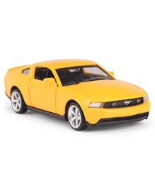 Innovador Die Cast Pull Back Action Ford Mustang GT Toy Car - Yellow