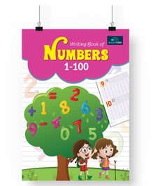 Writing Books of Number 1 to 100 - English