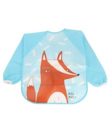 Yellow Bee Kids Fox Multi Purpose Painting and Art Smock - Blue