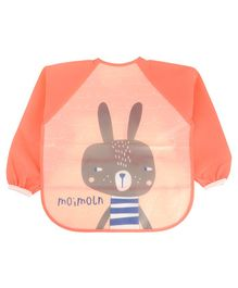 Yellow Bee Kids Rabbit Multi Purpose Painting and Art Smock - Orange