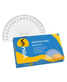 Youva Protractor - Pack of 10