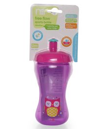 Mothercare Free Flow Sports Bottle Purple - 340 ml