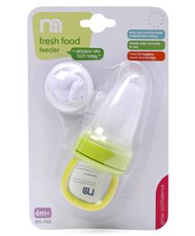 Mothercare Fresh Food Feeder - Green White