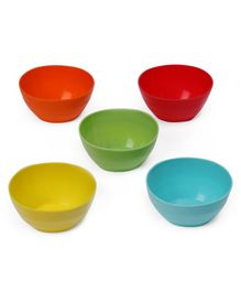 Mothercare Essential Bowls Pack of 5 - Multicolor