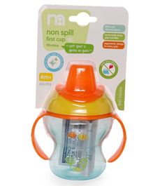 Mothercare Non Spill First Sipper Cup Orange - 190 ML