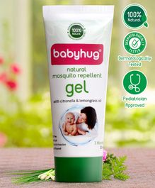 Babyhug 100% Natural Mosquito Repellent Gel - 50 ml