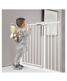 Baybee Metal Safety Gate 20 cm Extension - White