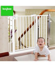 Baybee Metal Safety Gate 30 cm Extension - White