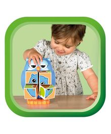 Tomy Funskool Play To Learn Mr Owl Pop Out Puzzle