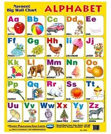 NavNeet Big Wall Chart Alphabet - English