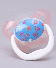 Dr. Brown's Prevent Butterfly Shield Pacifier Stage 2 - Pink White Blue