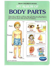 NavNeet My Album Of Body Parts - English