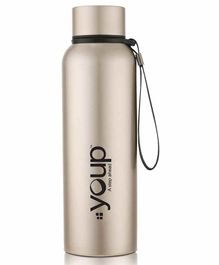 Youp Thermosteel Water Bottle Yp752 Gold - 750 ml