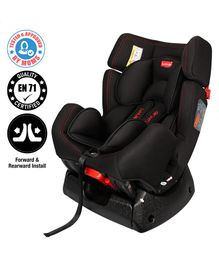LuvLap Cozy Car Seat - Black