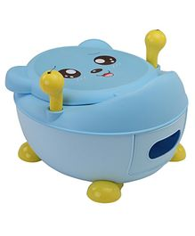 LuvLap Potty Chair With Lid - Blue