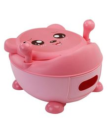 LuvLap Potty Chair With Lid - Pink