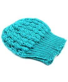 Magic Needles Turkish Yarn Cable Knit Cap - Light Blue