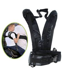 Magic Seat Two Wheeler Kids Safety Seat Belt - Black