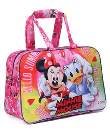 Disney Minnie Mouse Duffel Hand Bag Pink - Length 12 Inches