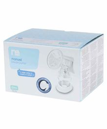 Mothercare Manual Breast Pump - White