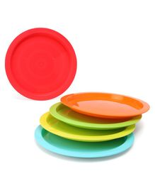 Mothercare Plates Set of 5 - Multicolour