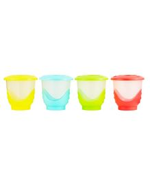 Mothercare Easy Pop Freeze Containers Set of 4 - Multicolour