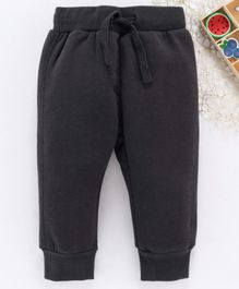 Fox Baby Full Length Lounge Pant With Drawstring - Dark Grey