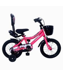 Ampa  Aviator 2.0 Bicycle wth Basket Floro Pink - 14 Inch