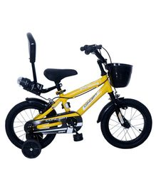 Ampa  Concept 2.0 Bicycle wth Basket Yellow - 14 Inch