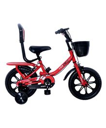 Ampa  Hey Dude Bicycle wth Basket Red - 14 Inch