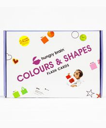 Hungry brain Colors & Shapes Flash Card