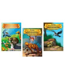 Panchatantra Tales Set of 3 Books - English