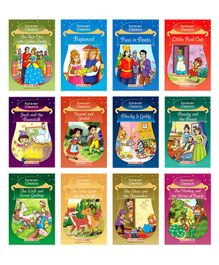 Forever Classics Bedtime Stories Set of 12 Books - English