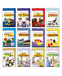 Picture Book Collection Early Learning Set of 12 Books - English