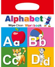 Wipe & Clean Workbook Alphabet - English