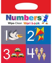 Wipe & Clean Workbook Numbers - English