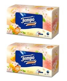 Tempo Duff Edition Facial Tissue Box 70 Pieces - Pack of 2
