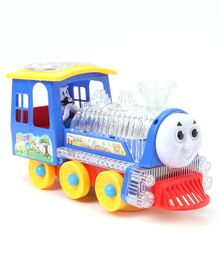 Musical Bump & Go Toy Train - Blue