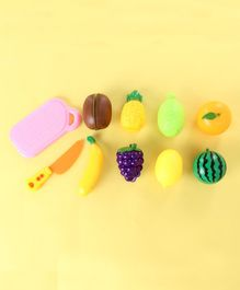 Pretend Play Fruit Cutting Set Multi-colour