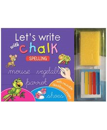 Sterling Lets Write With Chalk Writing Book - Spelling
