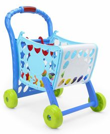 Baby Shopping Cart Toy - Blue